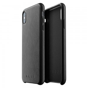 Купить Кожаный чехол MUJJO Full Leather Case iPhone Xs Max Black (MUJJO-CS-103-BK)
