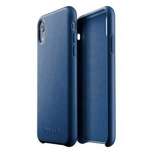 Купить Кожаный чехол MUJJO Full Leather Case iPhone Xr Blue (MUJJO-CS-105-BL)