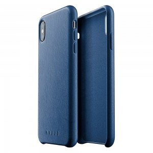 Купить Кожаный чехол MUJJO Full Leather Case iPhone Xs Max Blue (MUJJO-CS-103-BL)
