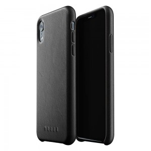 Купить Кожаный чехол MUJJO Full Leather Case iPhone Xr Black (MUJJO-CS-105-BK)