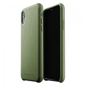 Купить Кожаный чехол MUJJO Full Leather Case iPhone Xr Olive (MUJJO-CS-105-OL)
