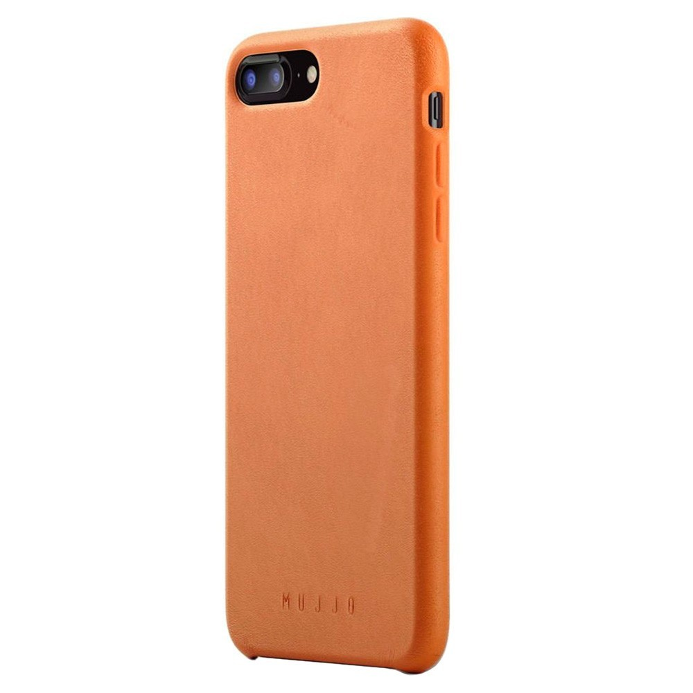 Кожаный чехол MUJJO Full Leather Case iPhone 8 Plus/7 Plus Tan (MUJJO-CS-094-TN)