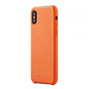 Купить Кожаный чехол MUJJO Full Leather Case iPhone Xs Tan (MUJJO-CS-095-TN)