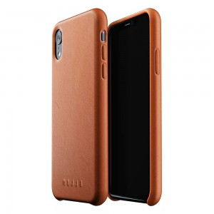 Купить Кожаный чехол MUJJO Full Leather Case iPhone Xr Tan (MUJJO-CS-105-TN)