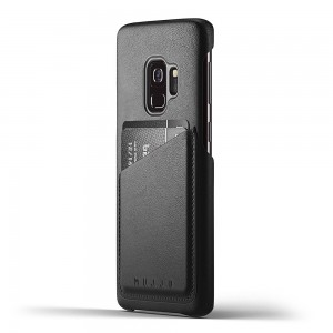 Купить Кожаный чехол MUJJO Full Leather Wallet Case Galaxy S9 Black (MUJJO-CS-100-BK)