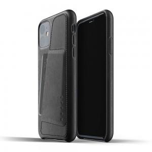 Купить Кожаный чехол с отделением для карт MUJJO Full Leather Wallet Case Black IPhone 11 (MUJJO-CL-006-BK)