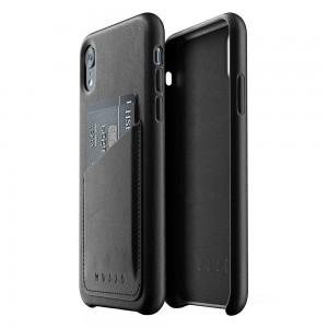 Купить Кожаный чехол с отделением для карт MUJJO Full Leather Wallet Case iPhone Xr Black (MUJJO-CS-104-BK)