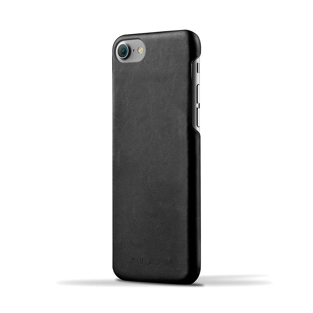 Кожаный чехол MUJJO Leather Case iPhone 8/7 Black (MUJJO-CS-073-BK)