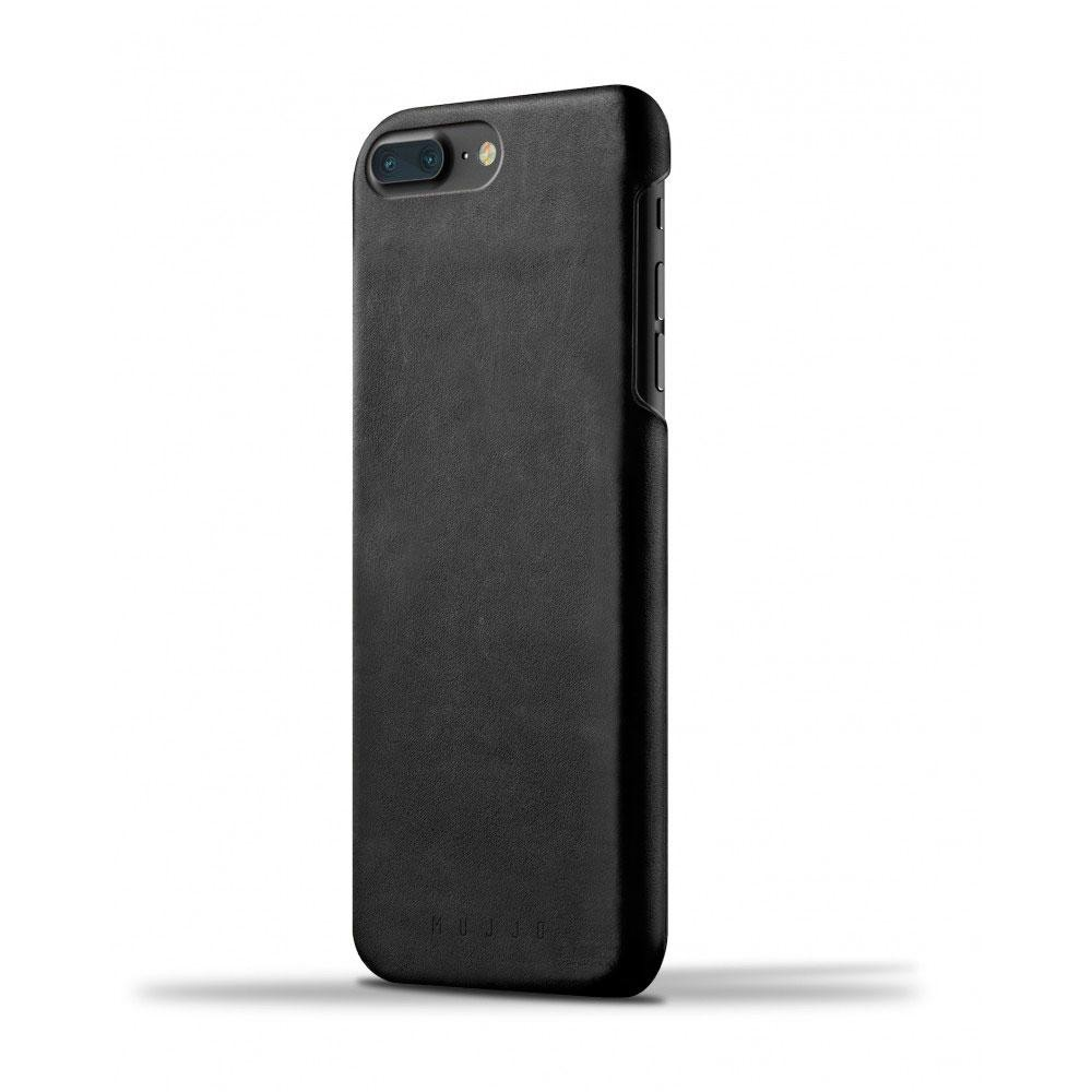 Кожаный чехол MUJJO Leather Case iPhone 8 Plus/7 Plus Black (MUJJO-CS-074-BK)