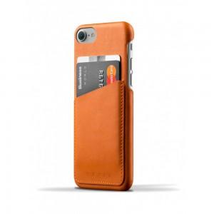 Купить Кожаный чехол с отделением для карт MUJJO Leather Wallet Case iPhone 8/7 Tan (MUJJO-CS-070-TN)