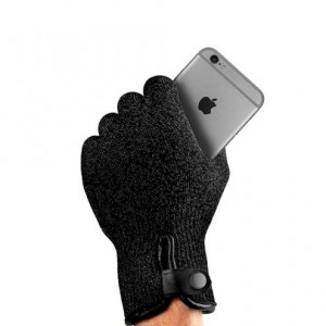 Купить Сенсорные перчатки MUJJO Single-Layered Touchscreen Gloves - Size L Black (MUJJO-GLKN-011-L)
