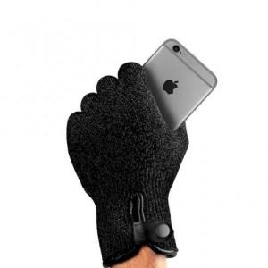 Купить Сенсорные перчатки MUJJO Single-Layered Touchscreen Gloves - Size L Black (MUJJO-GLKN-011-L)