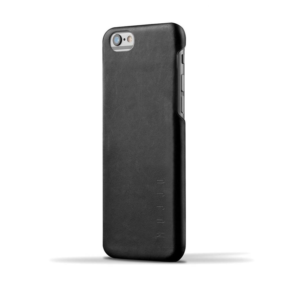 Кожаный чехол MUJJO Leather Case iPhone 6 Plus/6s Plus Black (MUJJO-SL-087-BK)