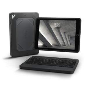 Купить Чехол-клавиатура ZAGG Rugged Book для iPad Air - backlit Black (ID5RGD-BBU)