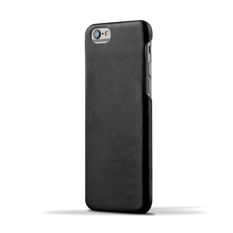 Кожаный чехол MUJJO Leather Case iPhone 6/6s Black (MUJJO-SL-085-BK)
