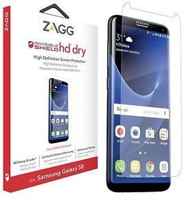 Защитная пленка InvisibleShield HD Dry - Samsung Galaxy S8 - Full Body Clear (GS8HDF-F00)