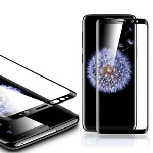 Купить Полноэкранное защитное стекло ESR Full Coverage Glass Film Black Edge Samsung S9 Plus