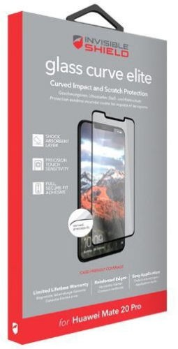 Защитное стекло InvisibleShield GlassCurve Elite-Huawei-Mate 20 Pro-Screen Clear (200102208)