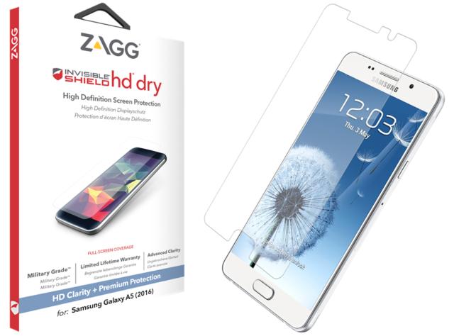 Защитная пленка InvisibleShield Samsung Galaxy A5 2016-HD Dry-Screen Clear (SG5HDS-F00)