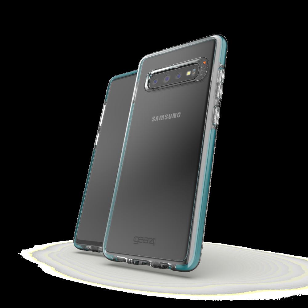 Чехол GEAR4 Piccadilly Samsung S10 Plus Teal (SGS10B2PICTAL)