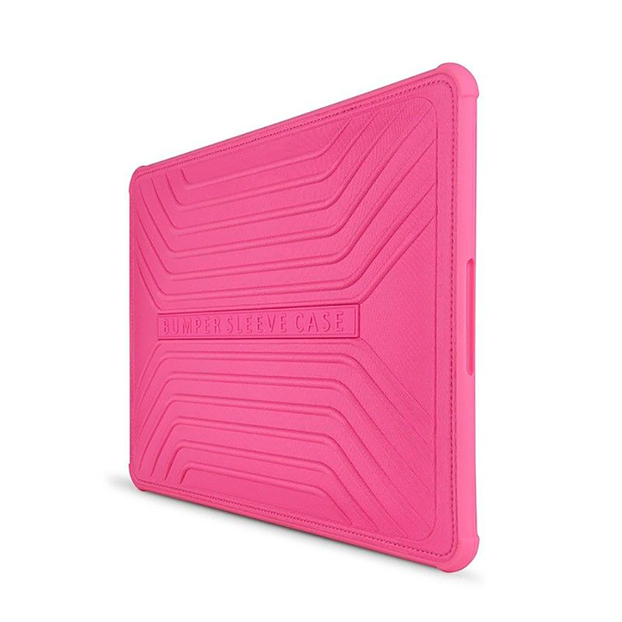 Чехол-бампер WIWU 12 Voyage Laptop Sleeve Pink