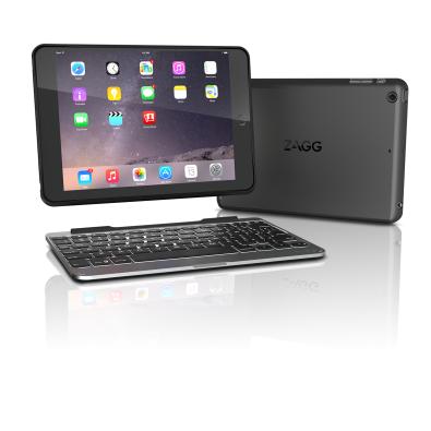 Чехол-клавиатура ZAGG Rugged Case and Keyboard-iPad Mini 4-Black Case-UK Black (IM4RGK-BBU)