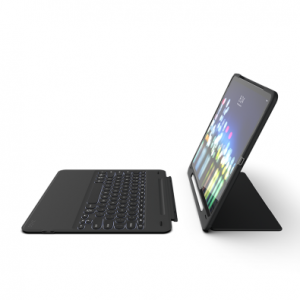 Купить Чехол-клавиатура ZAGG Keyboard - Slim Book Go - Apple-iPad Pro 12.9(2018)-UK Black (103302326)