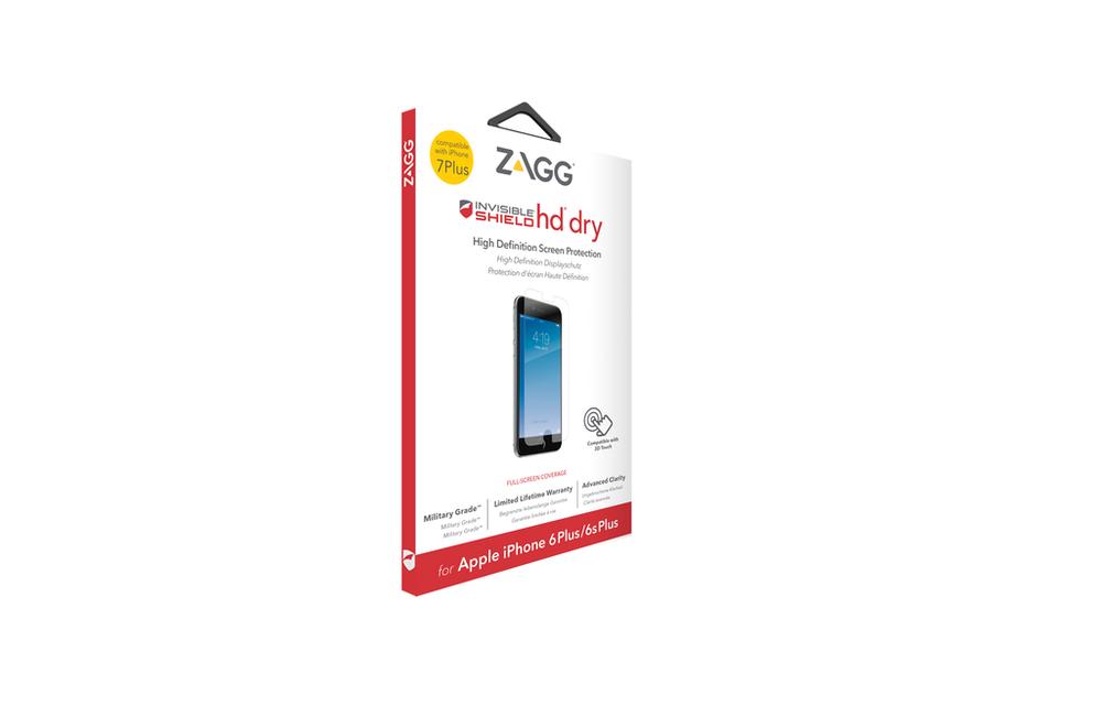 """Защитная пленка InvisibleShield HD Dry - iPhone 7 Plus 5.5"""" Screen Clear (I7LHDS-F00)"""