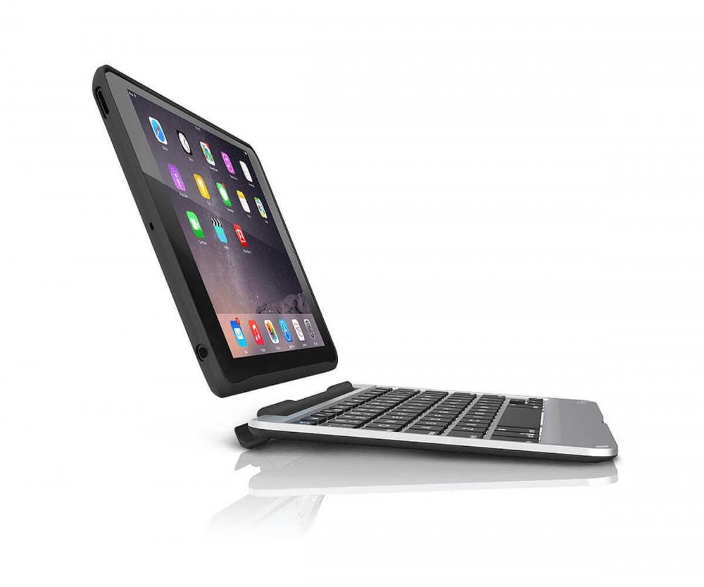 Чехол-клавиатура ZAGG Slim Book Case with Keyboard для iPad Air 2 - backlit Black (ID6ZF2-BBU)