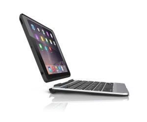 Купить Чехол-клавиатура ZAGG Slim Book Case with Keyboard для iPad Air 2 - backlit Black (ID6ZF2-BBU)