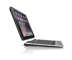 Купить Чехол-клавиатура ZAGG Slim Book Case with Keyboard для iPad Air 2 - backlit Black (ID6ZF2-BBU)