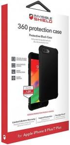 Купить Защитное стекло + чехол InvisibleShield 360 Protection Black Case - Apple iPhone 8/7 Plus Black (202002464)