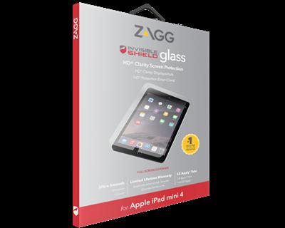 Защитное стекло InvisibleShield Glass+ iPad Mini 4 / iPad mini 2019 Screen Clear (200101596)