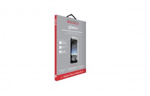 Защитное стекло InvisibleShield Glass+ iPhone 5/5s/5c/SE - Screen Clear (IP5LGS-F00)