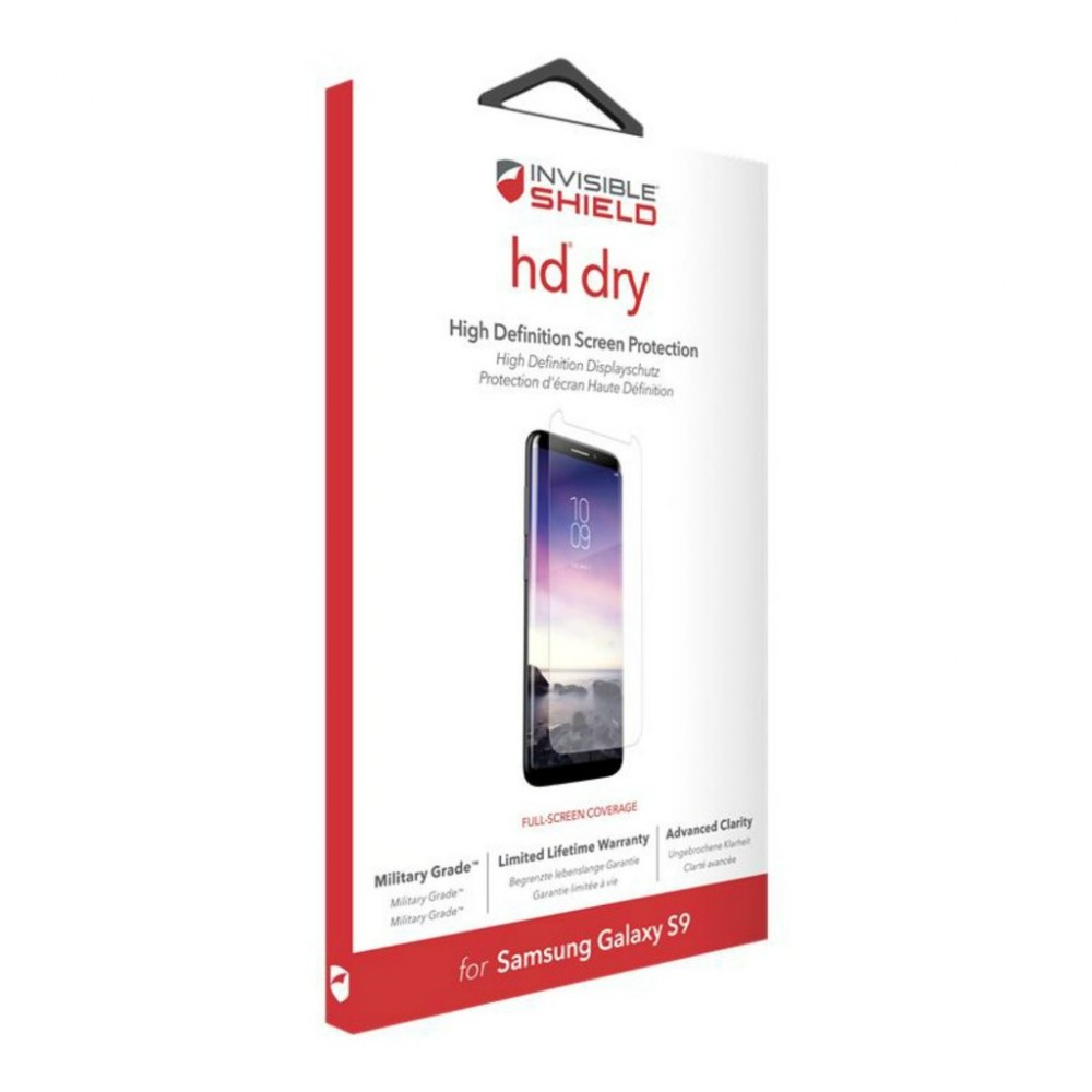 Защитная пленка InvisibleShield HD Dry Samsung Galaxy-S9 Screen  Clear (200201405)